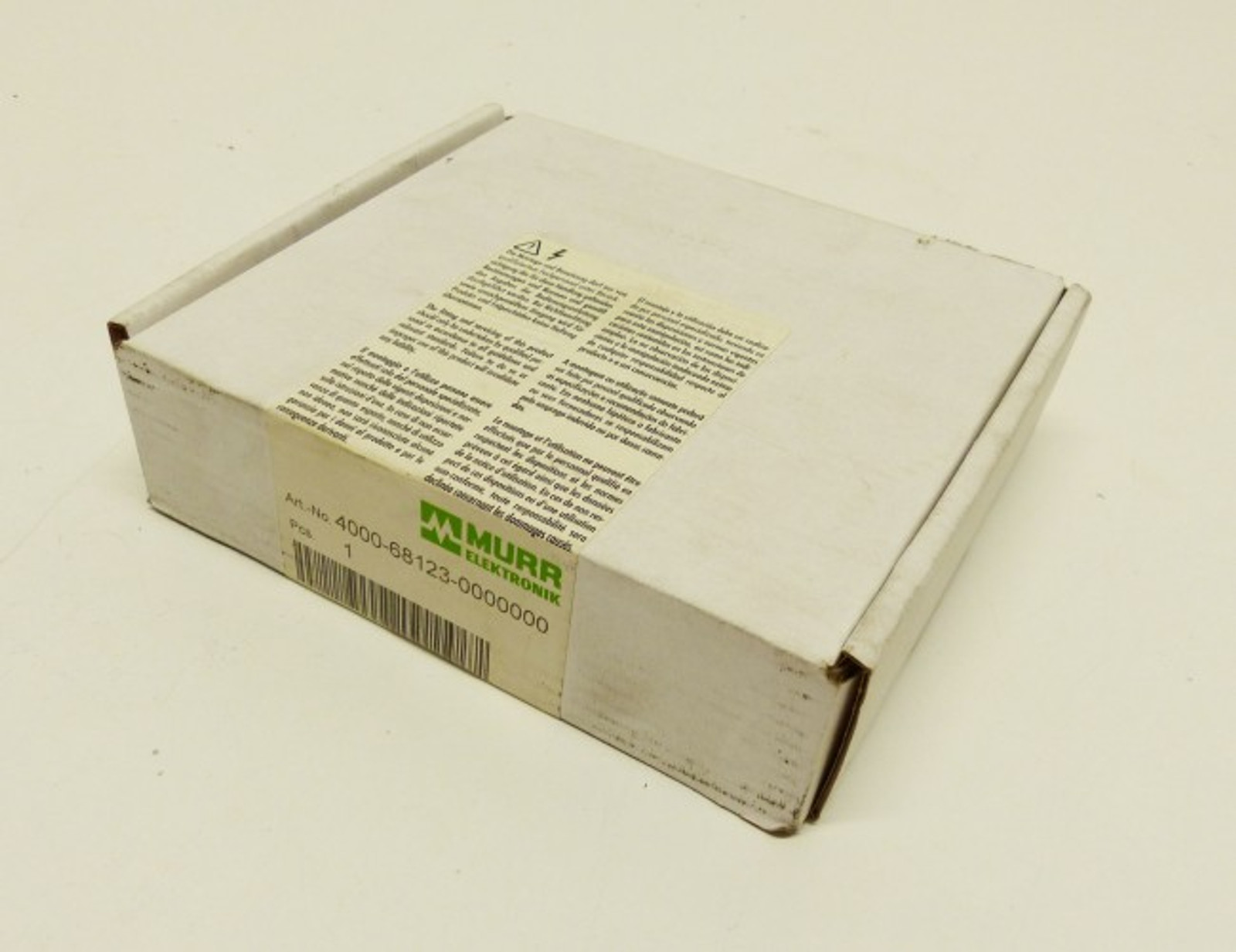 MURR Elektronik 4000-68123-0000000 -sealed-